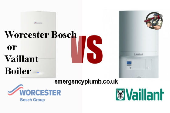 Brands and their products Worcester Bosch or Vaillant Boiler