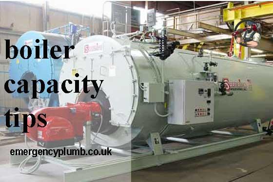 boiler capacity, repair, tips, Select and buy