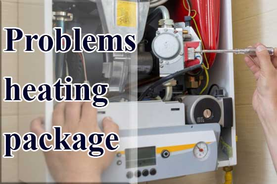Problems with a heating package