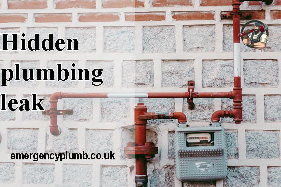 Hidden plumbing leak and tips and solve