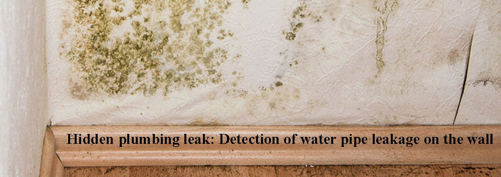 Hidden plumbing leak