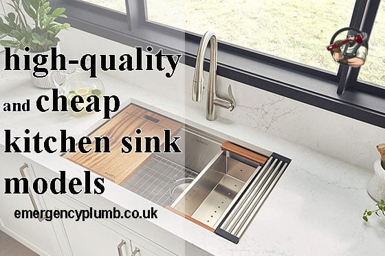 high-quality and cheap kitchen sink models