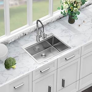 Investigation of several high-quality kitchen sink models