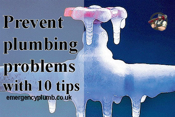 Prevent plumbing problems with 10 tips
