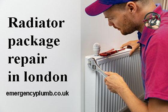 Radiator package repair in london