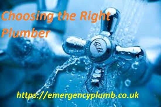 choosing the right plumber