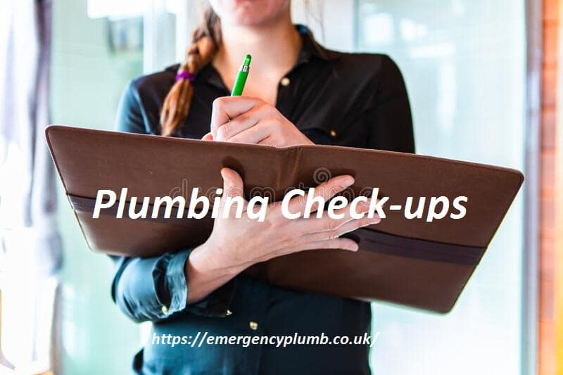 Plumbing Check-ups